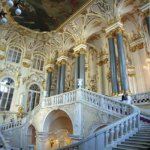 The main staircase of the Winter Palace