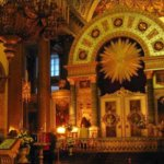 The iconostasis of St. Isaac's Cathedral